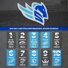 Salt Lake Stallions vs. Arizona