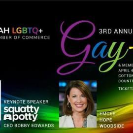 Utah LGBTQ+ Chamber of Commerce 3rd Annual Gay-la