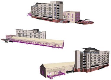 Aloft Hotel artist renderings