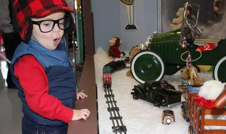 Indiana Welcome Center A Christmas Story Comes Home exhibit