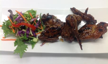 Asparagus Restaurant Merrillville BBQ Wings