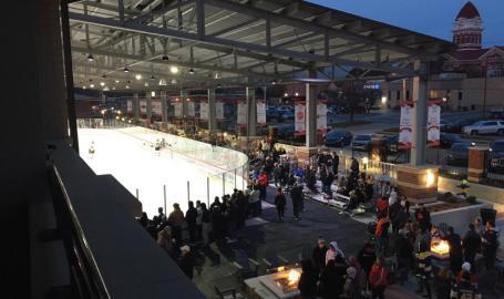Bulldog Park Hockey Game