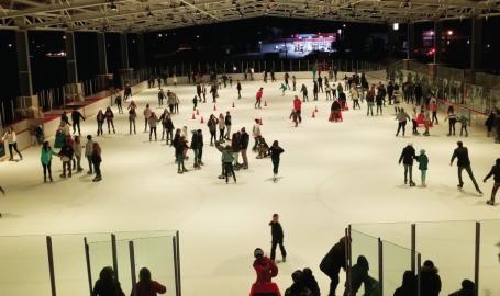 Bulldog Park Ice Skating