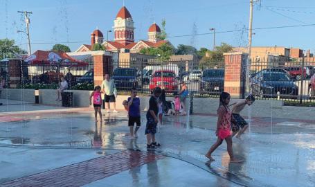 Bulldog Park Splash Pad