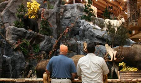 Cabelas Shopping Hammond Mountain