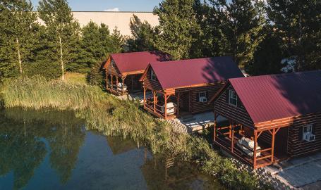 Caboose Lake Campground Cabins