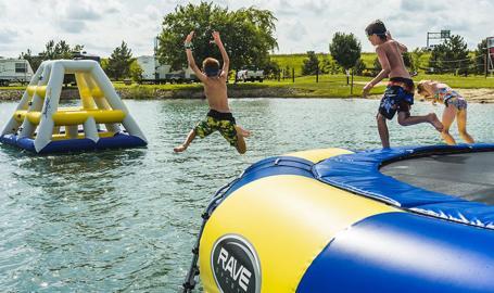 Caboose Lake Campground summer fun