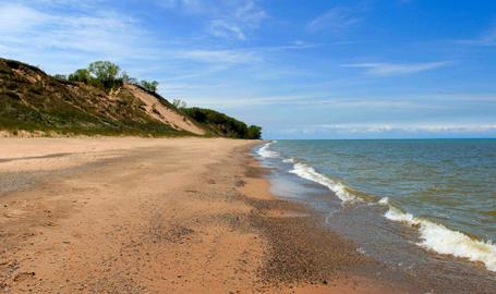 Central Avenue Beach - Indiana Dunes