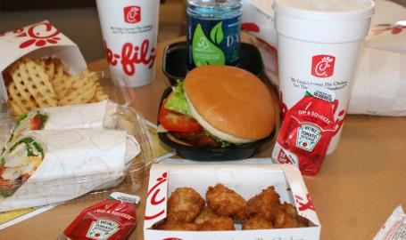 Chick-fil-a Restaurants Merrillville Food