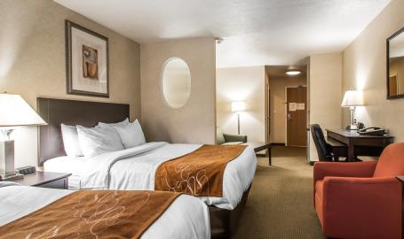 Comfort Suites Hotel Merrillville 2 bed room