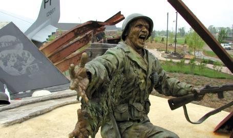 Community Veterans Memorial Things to Do Munster WWII