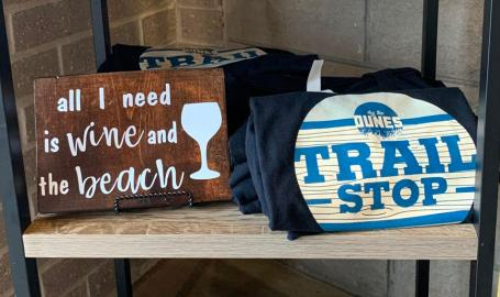 Dig the Dunes Trail Stop merchandise