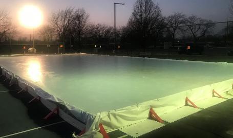 Dyer Northgate Park Ice Skating Rink