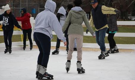 Ice Skating in East Chicago