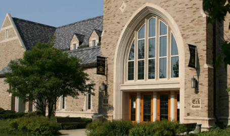 Eck Visitors' Center at the University of Notre Dame