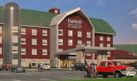 Fairfield by Marriott Fair Oaks Farms exterior
