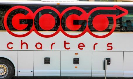 GoGo Charter Buses logo