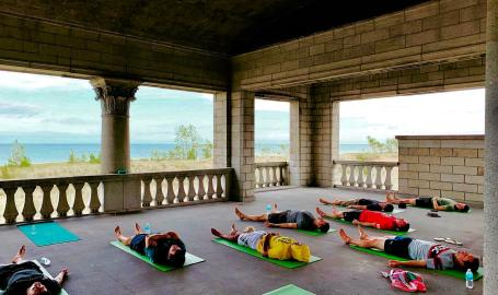 Gary-Miller-beach-yoga