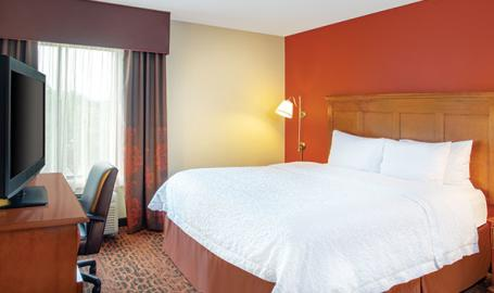 Hampton Inn Merrillville king room
