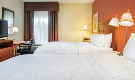 Hampton Inn Merrillville queen double