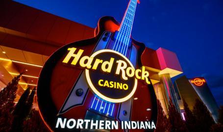 Hard Rock Casino Northern Indiana entrance