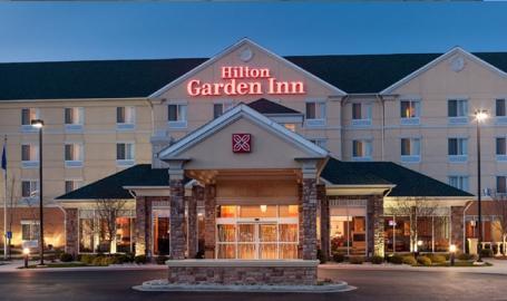 Hilton Garden Inn Merrillville Hotel exterior