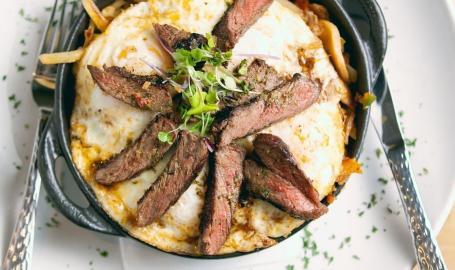 Avgo Steak & Egg Skillet