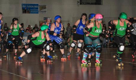 Jean Shepherd Center Hammond roller derby