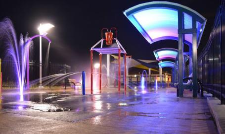Jeorse Park and Beach Splash Pad