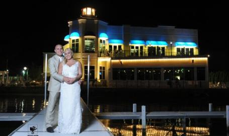 Pier Bride & Groom
