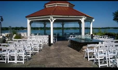 Gazebo Ceremony Set Up