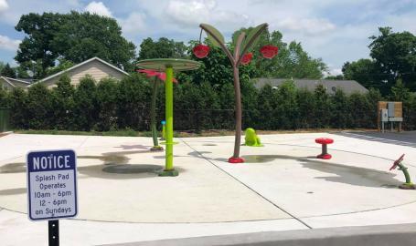 LaPark Playground splash pad