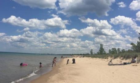 Lake Street Beach Gary