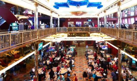 Majestic Star Casino, Boarding Level