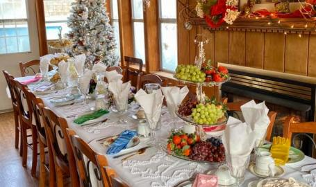 Merrillville Florist and Tea Room Children's party set