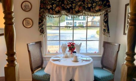 Merrillville florist and tea room tea nook