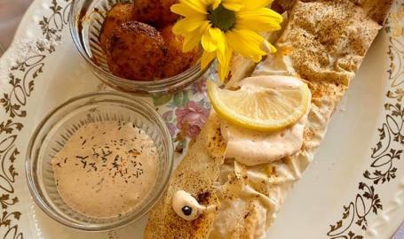 Merrillville Florsit and tea room salmon