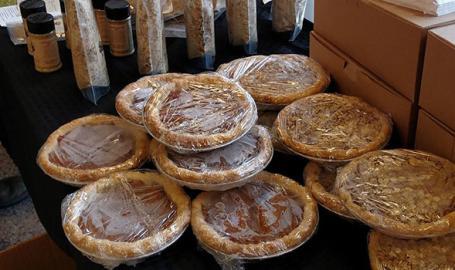 Miller Beach Farmers' Market pies