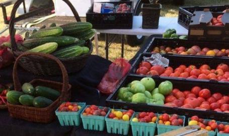 Miller Beach Farmers' Market produce