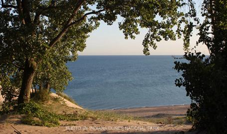 Morning on Mount Baldy - NPS Indiana Dunes