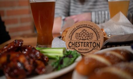 Chesterton Brewery food