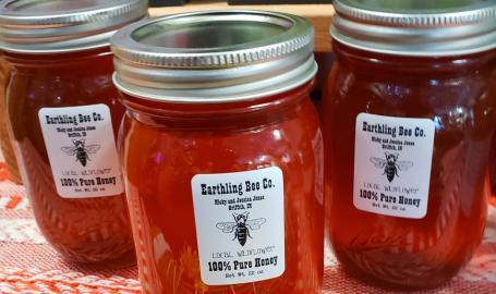Pieces of Jayde local honey