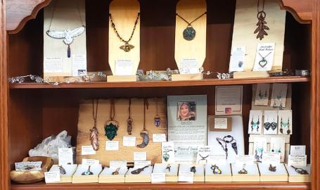 Pieces of Jayde jewelry