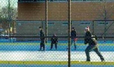 Pulaski Park Hammond Ice Skating