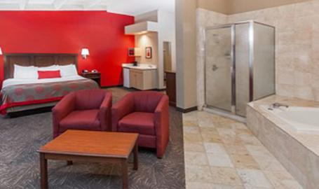 Ramada Hotel Hammond suite