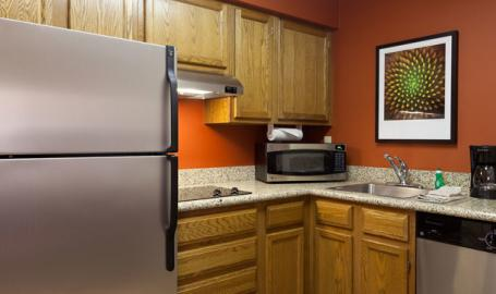 Residence Inn Hotel Merrillville Suite Kitchen