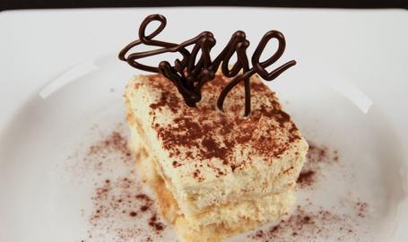 Sage Restaurant Dining Chesterton Tiramisu