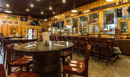 Shoreline Brewery interior