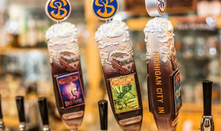 Shoreline Brewery on tap