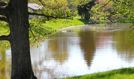 Stoney Run County Park - lake